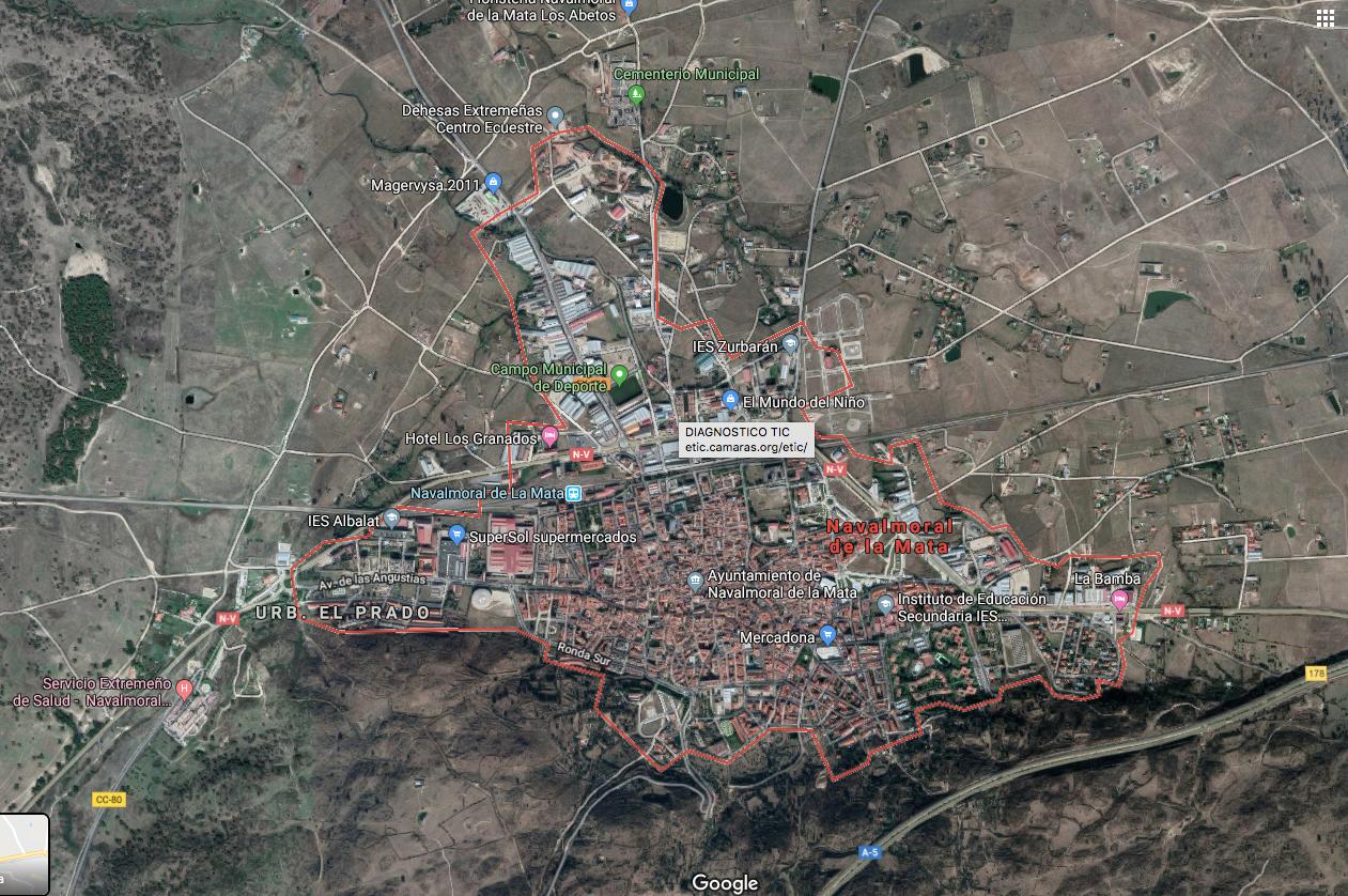 Un mapa dará visibilidad a los comercios de Navalmoral de la Mata