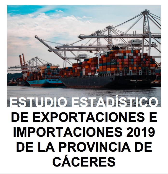 Portada estudio exportaciones 2019